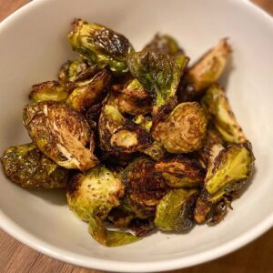 Whole30 Balsamic Glazed Brussel Sprouts